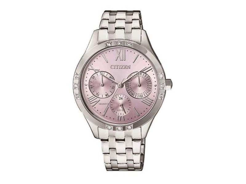 Citizen Lades Pink Dial Watch ED8170-56X