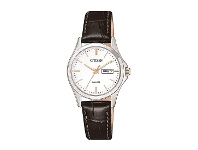 Bevilles Citizen Ladies Quartz Day/Date Watch Model EQ0599-11A