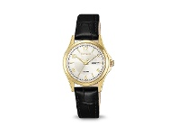 Bevilles Citizen Womens Gold Watch EQ0593-26A