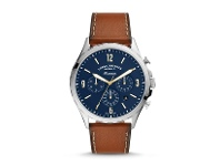 Bevilles Fossil Forrester Brown Chronograph Watch FS5607