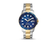 Bevilles Fossil Two Tone and Blue Men's Watch FS5742
