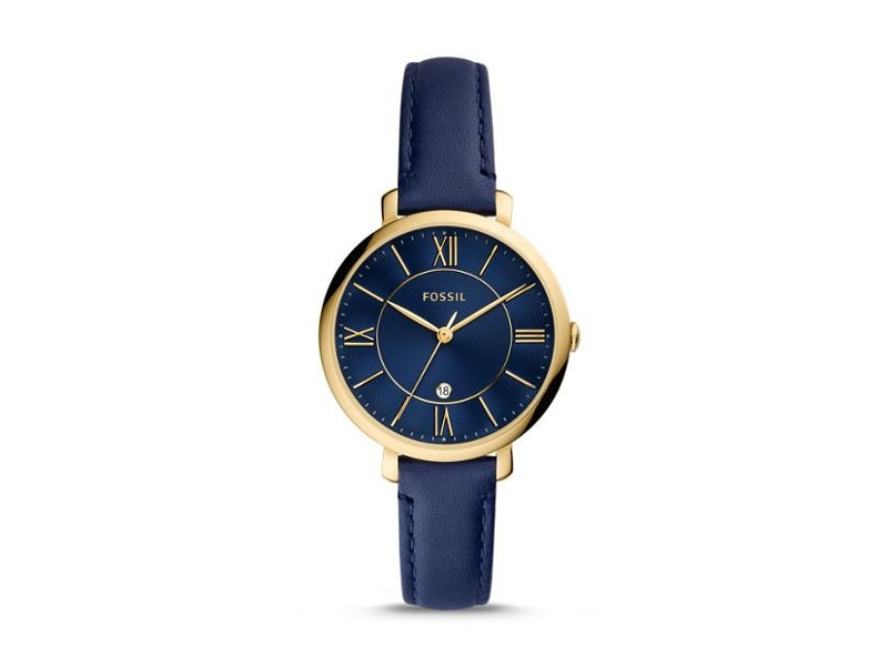 Fossil Jacqueline Blue and Gold Women's Watch ES5023