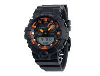 Bevilles Casio G-shock G-Squad Bluetooth Orange & Black Watch GBA-800SF-1ADR