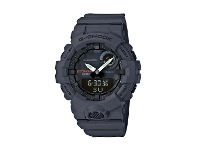 Bevilles Casio G Shock Squad Black Face Case Bluetooth Connect Model GBA-800-8ADR