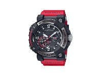 Bevilles CASIO G SHOCK MASTER OF G FROGMAN BLUETOOTH SOLAR WAVE CEPTOR RED BAND
