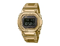 Bevilles Caso G-Shock 35th Anniversary All Gold Metal Watch GMW-B5000GD-9DR