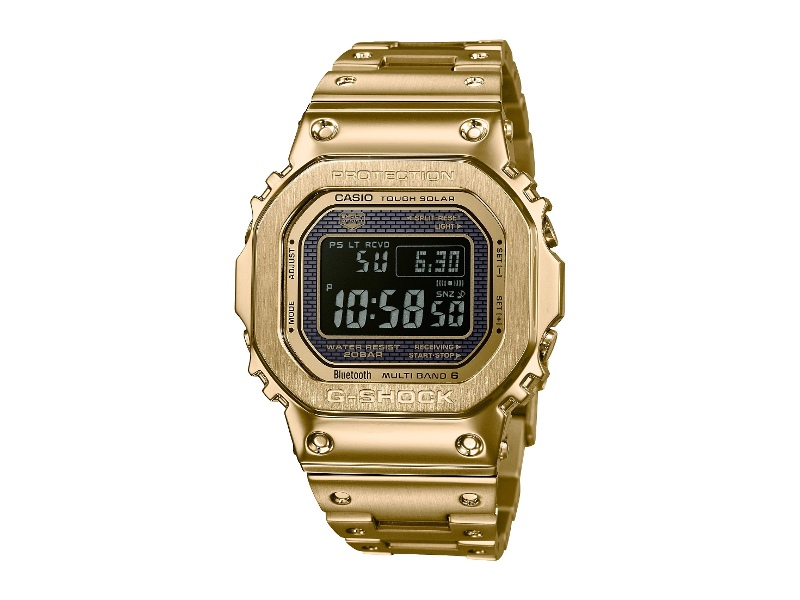 Caso G-Shock 35th Anniversary All Gold Metal Watch GMW-B5000GD-9DR