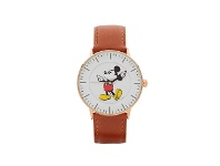 Bevilles Disney Formal Mickey Mouse Rose Gold Watch