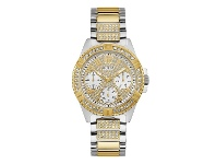 Bevilles Guess Ladies Sport Two-Tone Stone Set Watch U1156L5