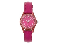 Bevilles Guess Ladies Pink Round Leather Watch Model - W65023L3B