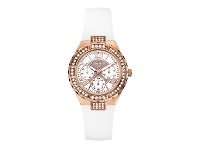 Bevilles Guess Ladies Rose Gold Watch
