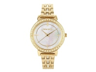 Bevilles Pierre Cardin Amy Crystal White and Gold Women's Watch 5937