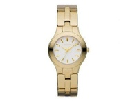 Bevilles DKNY Ladies Round White Dial Watch