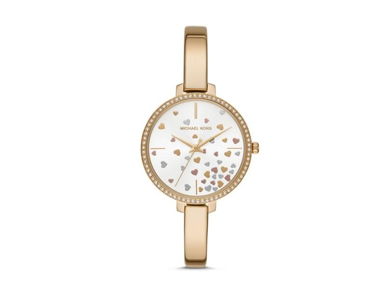 Michael Kors Jaryn Gold Stone Set Watch MK3977