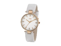 Bevilles JAG Piper White Leather Watch J1946