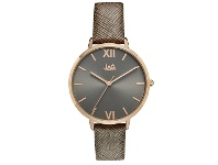 Bevilles Jag Sophie Dark Grey/Taupe Rose Gold Womens Watch J2260