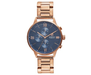 Roberto Carati Jarrod Multifunction Rose Gold Watch