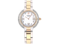 Bevilles Roberto Carati Ambrosia Crystal Two Tone Rose Gold & Silver Watch