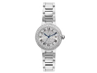 Bevilles Roberto Carati Envy Crystal Silver Watch M8010-S