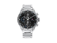 Bevilles Tommy Hilfiger Trent Multifunction Silver Watch 1791805