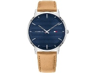 Bevilles Tommy Hilfiger James Blue Brown Watch 1791652