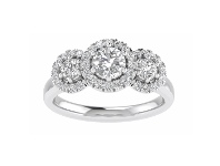 Bevilles Love by Michelle Beville 18ct White Gold 1ct Diamond Ring