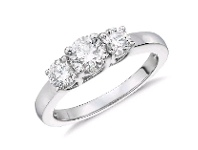 Bevilles Trilogy Ring with 2.45ct of Diamonds in 14ct White Gold