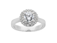 Bevilles Sterling Silver & Cubic Zirconia Ring