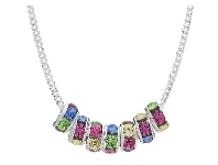 Bevilles Children's Sterling Silver Swarovski Crystal Necklace
