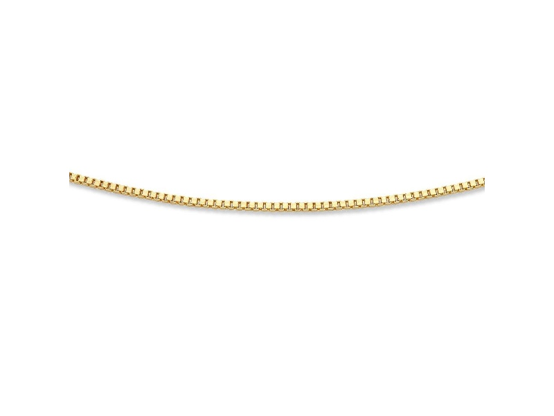 9ct Yellow Gold Silver Filled Necklace