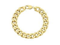 Bevilles 9ct Yellow Gold 22cm Bracelet