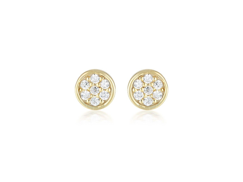 Georgini Gold Dotti Stud Earrings