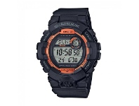 Bevilles Casio G-Shock G-Squad Black & Orange Bluetooth Watch GBD-800SF-1DR