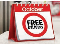 Coles Free Delivery October