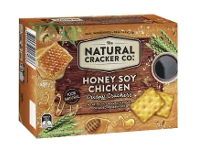 Coles The Natural Cracker Co. Crispy Crackers 160g