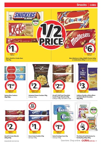 Coles OS 16/10 QLD North