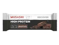 Coles Musashi High Protein Milk Chocolate Brownie Bar 90g
