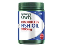 Coles Nature's Own Odourless Fish Oil 2000mg Capsules 200 Pack