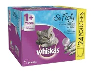 Coles Whiskas Oh So Cat Food 24x85g