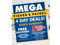 The Good Guys Mega Fisher & Pykel 4 Day Deals!