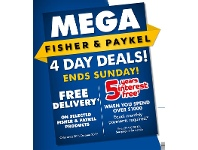 The Good Guys Mega Fisher & Paykel 4 Day Deals!