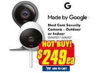 The Good Guys Made By Google Nest Cam Security Camera - Outdoor Or Indoor