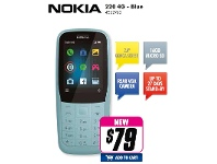 The Good Guys Nokia 220 4G - Blue