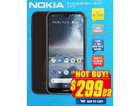 The Good Guys Nokia 4.2 Android One - Black