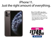 The Good Guys iPhone 11 Pro 64GB - Space Grey