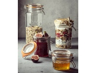 Kilner Facetted Clip Top Jar - 950ml