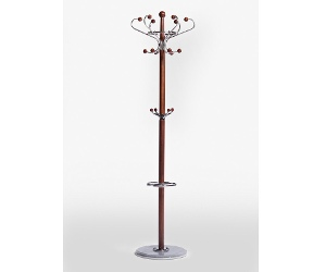 Classic Clothes and Hat Stand - 176cm