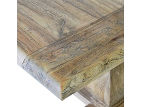 LivingStyles Bellac Reclaimed Elm Timber 300cm Dining Table