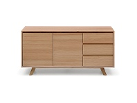 LivingStyles Alison 2 Door 3 Drawer 155cm Buffet Table
