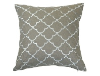 LivingStyles Margaret Linen Scatter Cushion Cover, Ivory